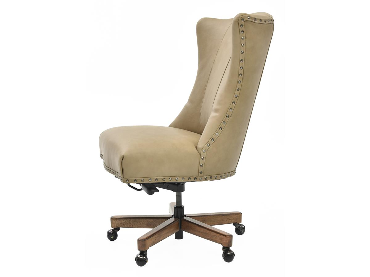 Lynn Top-Grain Leather Desk Chair