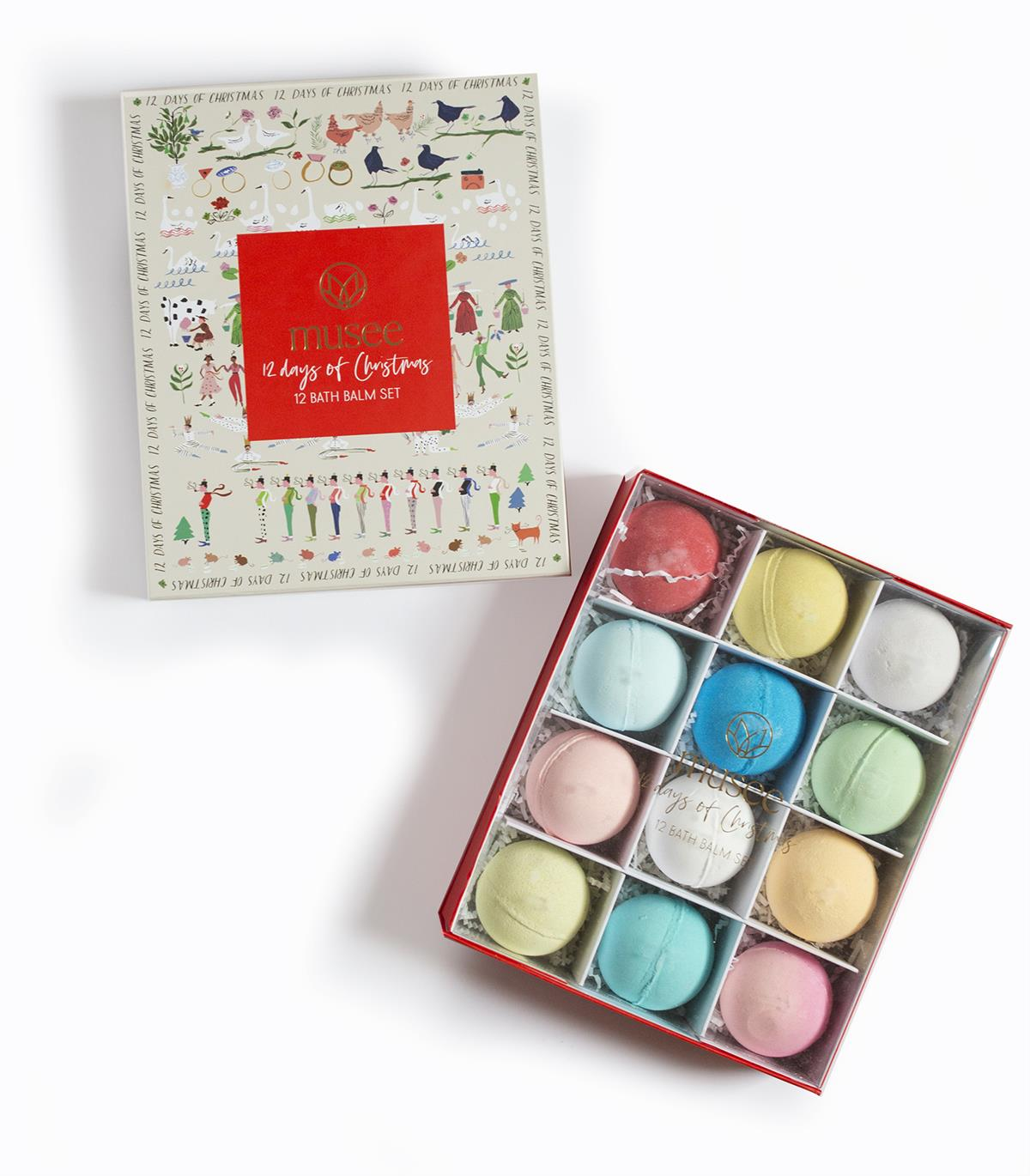 12 Days of Christmas Bath Bomb Set