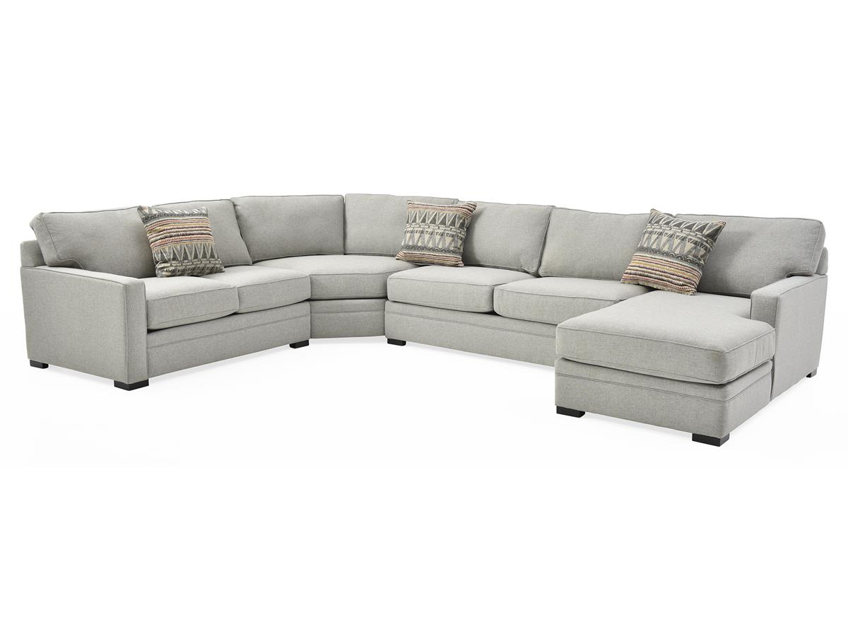 Stupendous Juno Four Piece Sectional Gray Andrewgaddart Wooden Chair Designs For Living Room Andrewgaddartcom