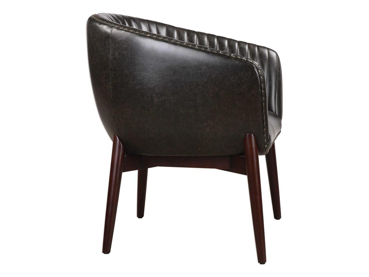 Anders Faux Leather Accent Chair