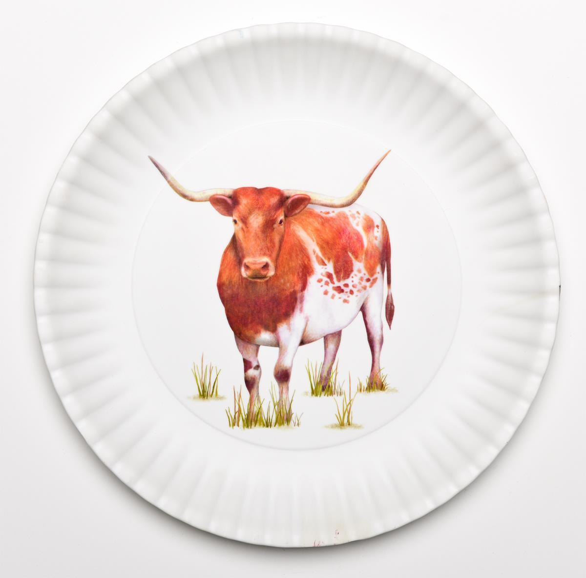Ceramic dip dish, round relish dish, appetizer serving dish