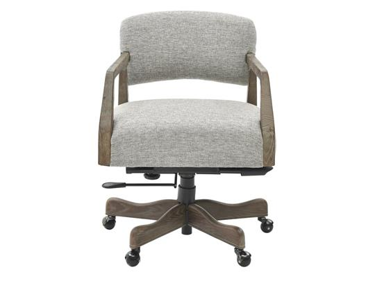 Mason Executive Desk Chair, Woven Muted Cocoa