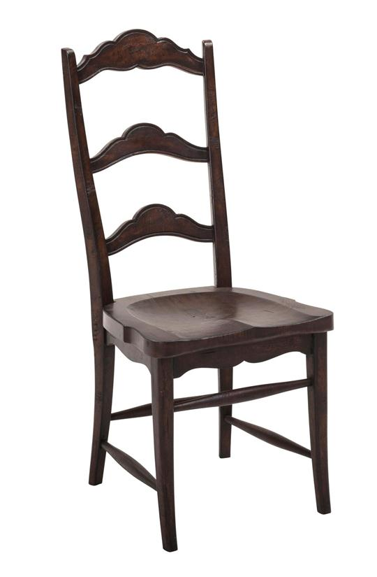 Colonial Side Chair, Dark Rustic Pecan