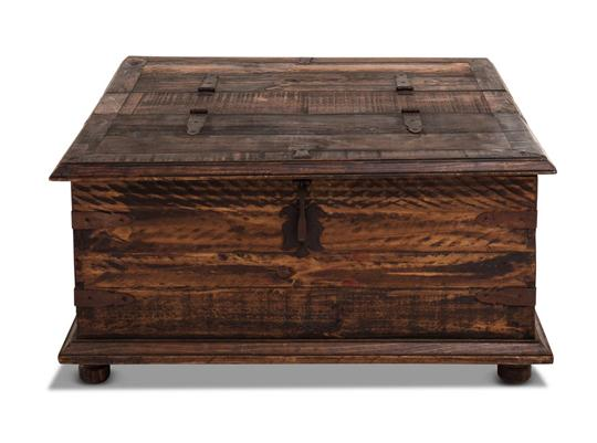 Rustic Coffee Table/Double Trunk
