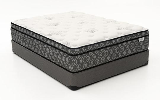 Sleep Designs Carmel Euro Pillow Top, Mattress Set