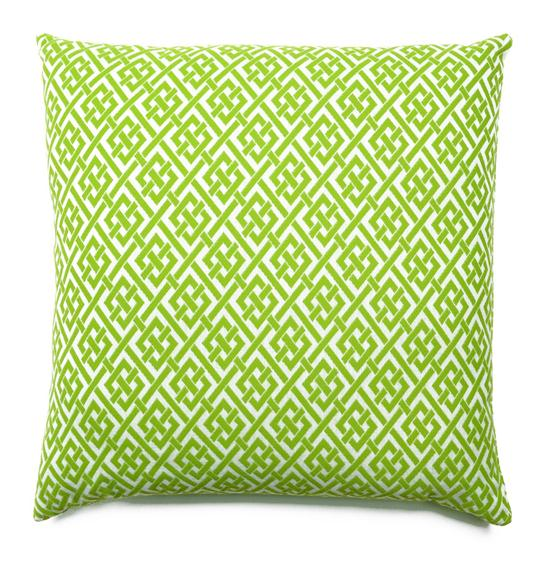 Latticework Outdoor Pillow