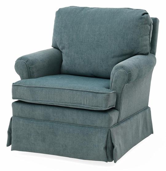 Lydia Swivel Rocker, Teal