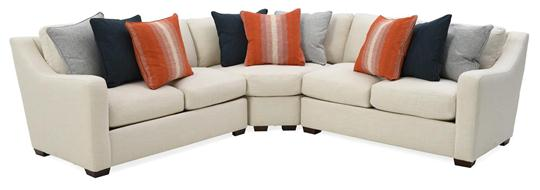 Rowland Sectional, Cream