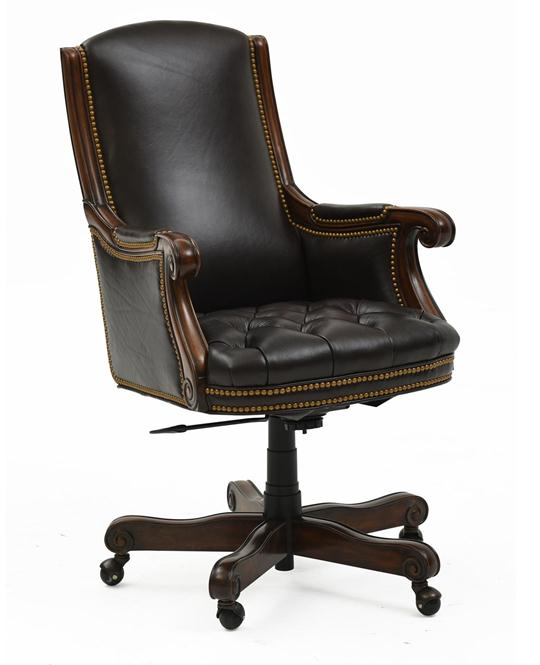 Matthew Top-Grain Leather Executive Chair